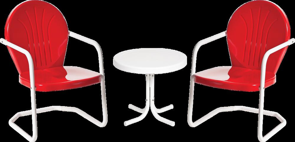 Retro Metal Chairs
