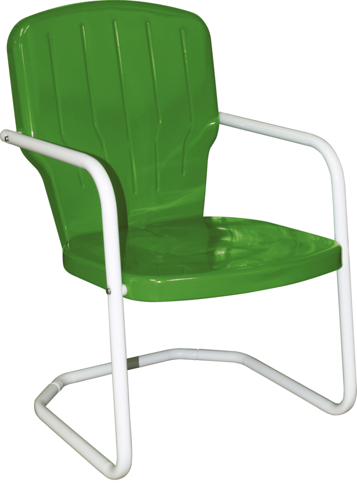 Image Styles - Retro Metal Lawn Chairs Torrans Manufacturing Company