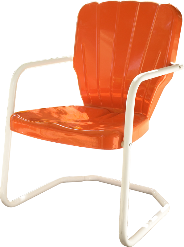 Retro Metal Lawn Furniture In 4 Styles Thunderbird