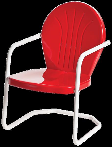 Bon Bellaire Metal Lawn Chair
