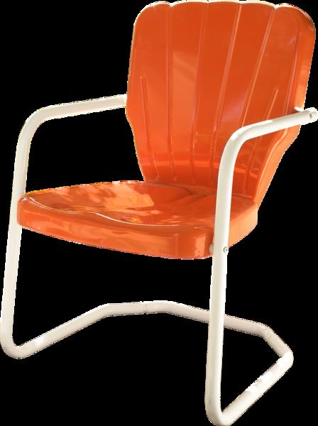 Thunderbird Metal Lawn Chair