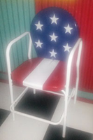 Image SECOND - Americana Bar Chair