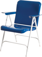 Image SECONDS Belvidere Folding Chairs-White only