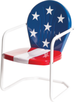 Image SECOND/CLOSE OUT - Americana Lawn Chair