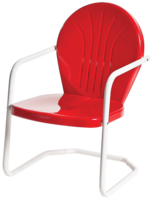 Image Bellaire Metal Lawn Chair