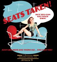 Image Seats Taken-Raglan Sleeve