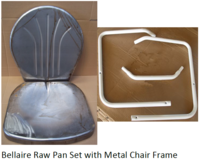 Image Bellaire Raw Pan Set with Frames