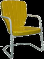 Image HEAVY DUTY Thunderbird Metal Lawn Chair