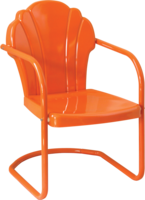 Image CLOSEOUT - Parklane Metal Chair
