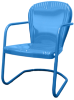 Image Riviera Metal Chair-Made/Assembled in USA
