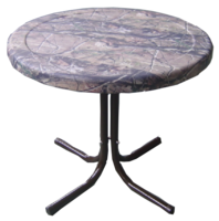 Image SECOND - Metal Side Table in Camo