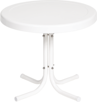 Image Metal Side Table